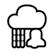 Predicción de lluvia mediante un radar animado.